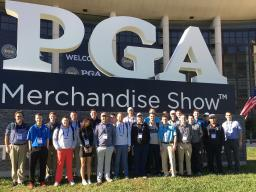 The Big Red was Out in Force at the 2017 PGA Merchandise Show