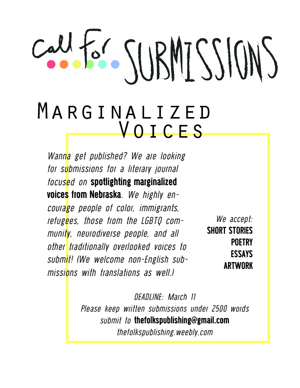 call for submissions poster