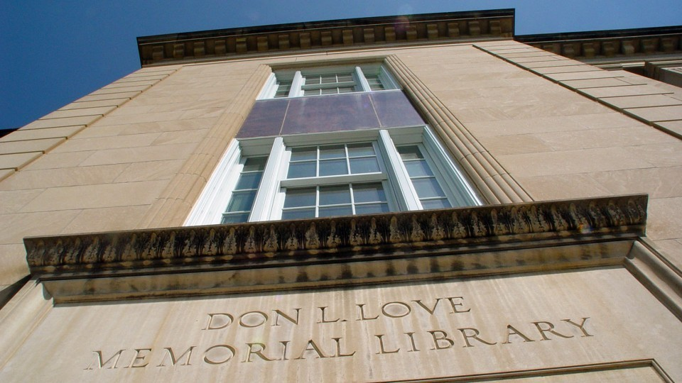 Love Library | University Communications file