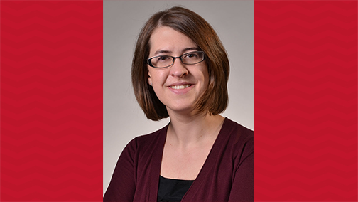Elizabeth Niehaus, assistant professor in Teaching, Learning and Teacher Education, has won two ACPA honors.