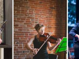 Play with the Chiara Finalist: Hannah Bell, clarinet; Jordan Ellis, viola; Jennifer Son, cello.