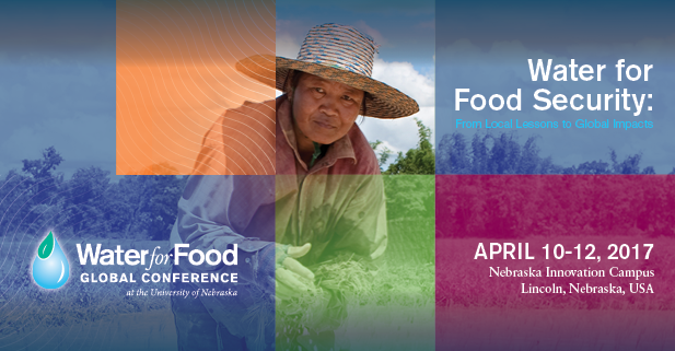 The deadline is approaching to submit abstracts for the Water for Food Global Conference.