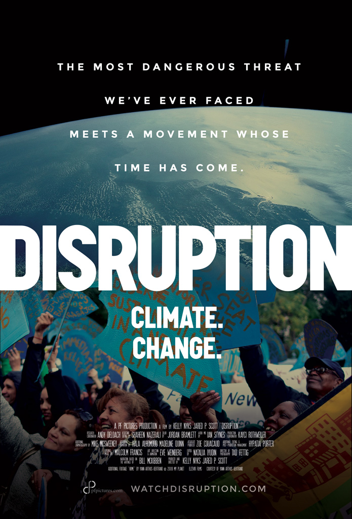 """Official """"Disruption"""" movie poster 