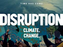"""Official """"Disruption"""" movie poster   Courtesy image"""