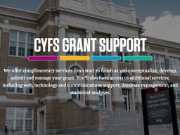 CYFS grant support website: cyfsgrant.unl.edu