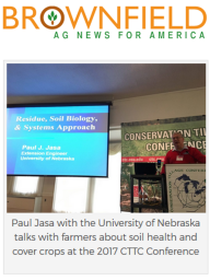 Paul Jasa on Brownfield Ag News