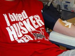Spring Blood Drive April 10-13 at Nebraska Union Plaza
