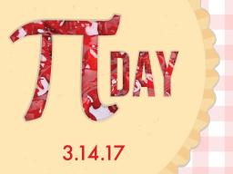 Pi Day is Tuesday, March 14 (3.14.17)