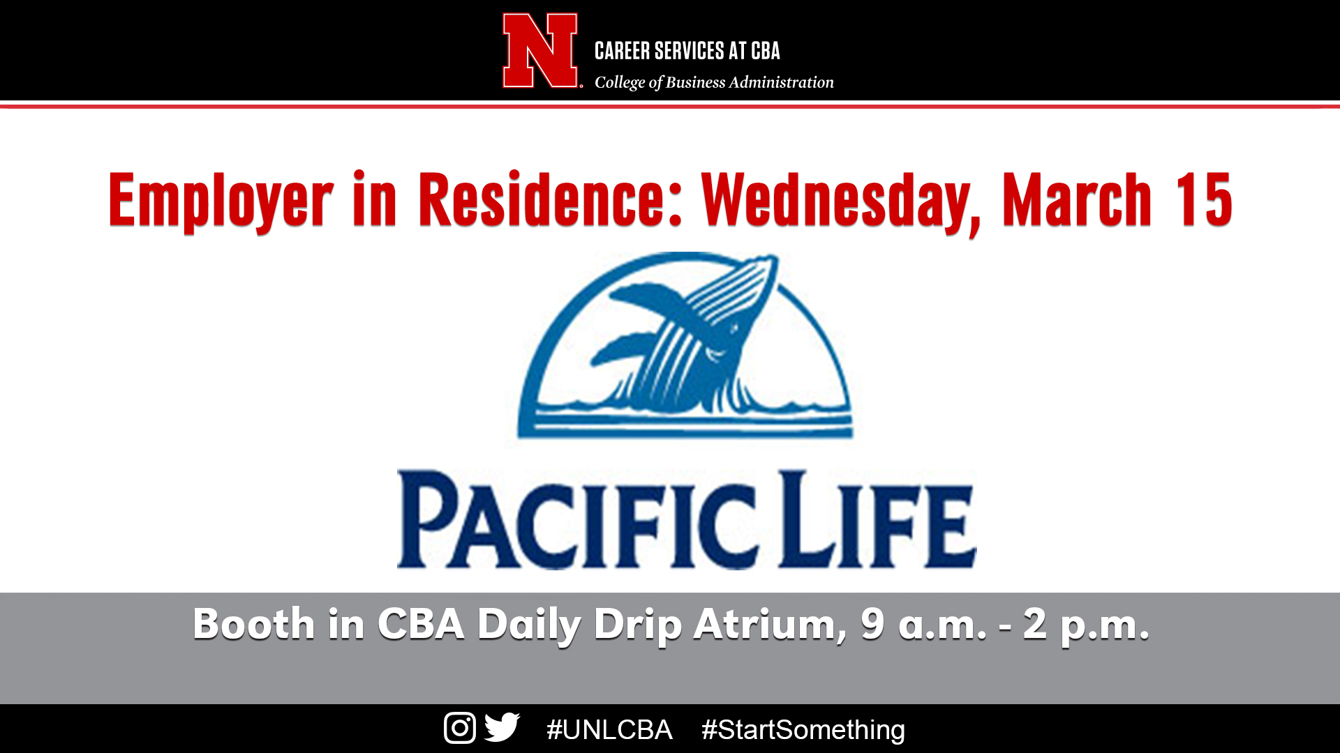 Wednesday March 15 Pacific Life Announce University