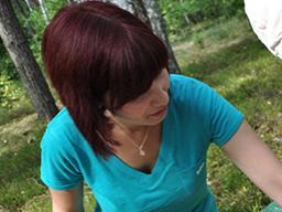 Dr. Caroline Sturdy Colls at Treblinka.
