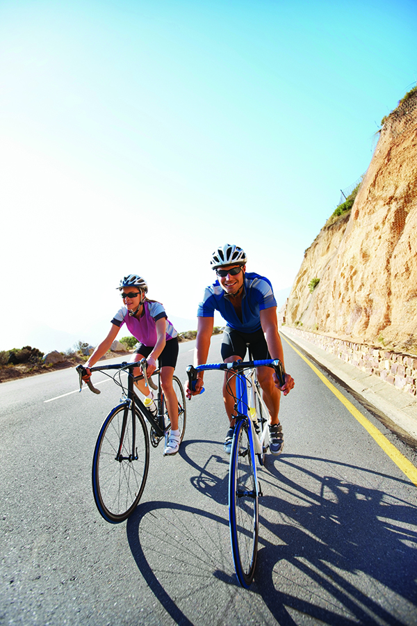 Bike camping is just one of 40+ classes offered for academic credit through Campus Recreation.