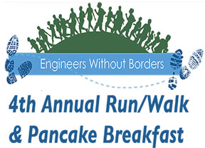 4th Annual EWB Run/Walk & Pancake Breakfast