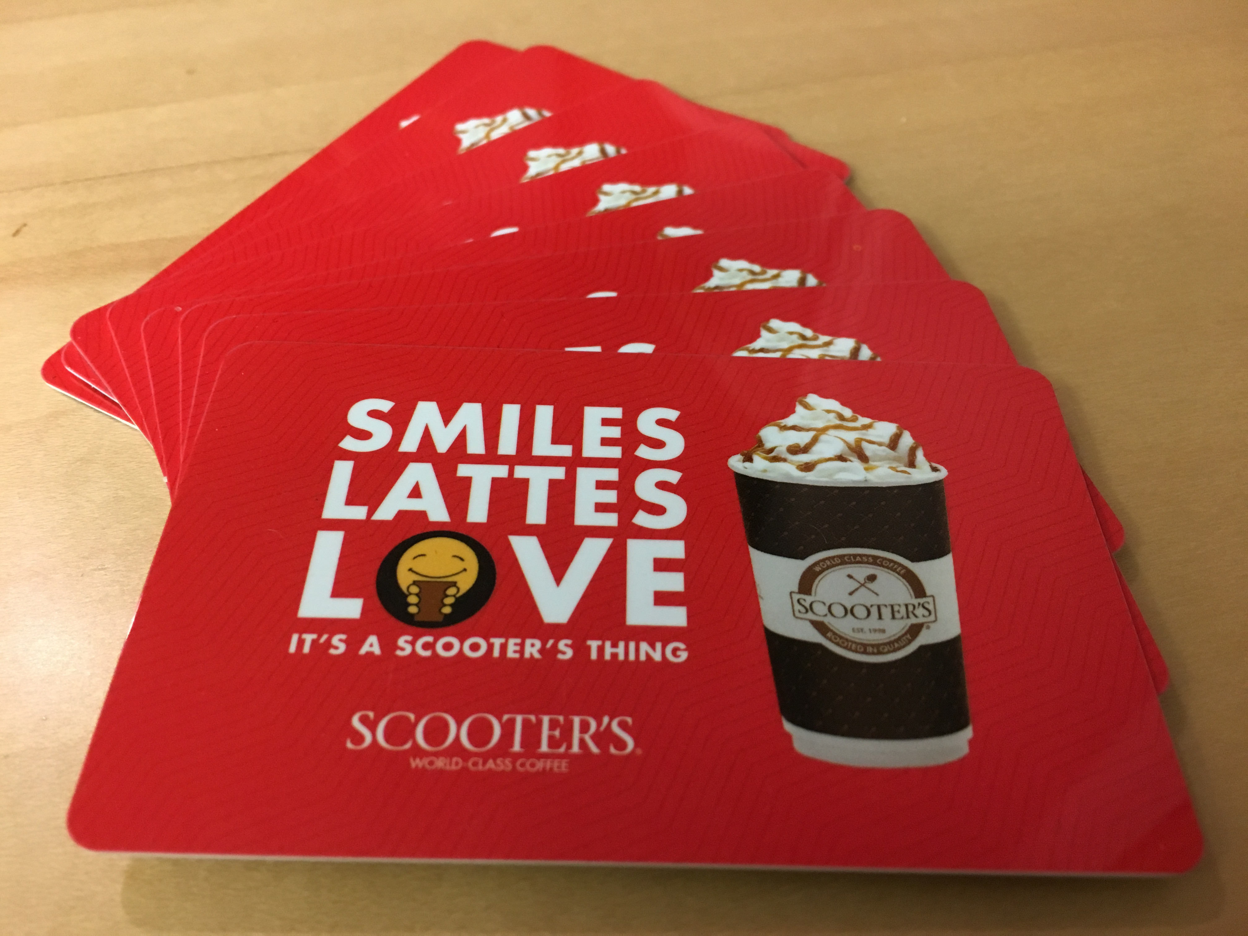 Get a $5 Scooter's gift card for referring a friend.