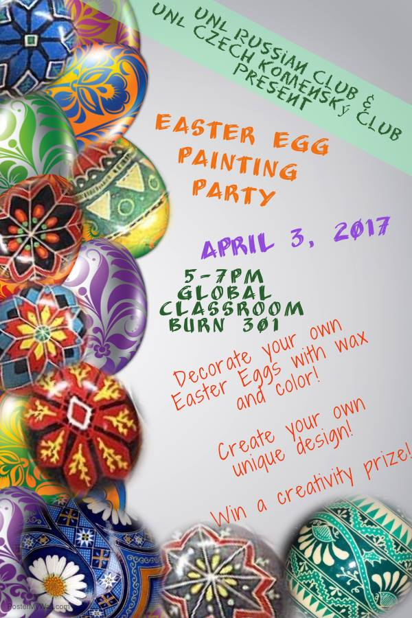 EVENT: Easter Egg Painting Party