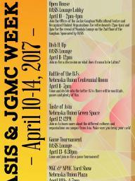JGMC Week flier