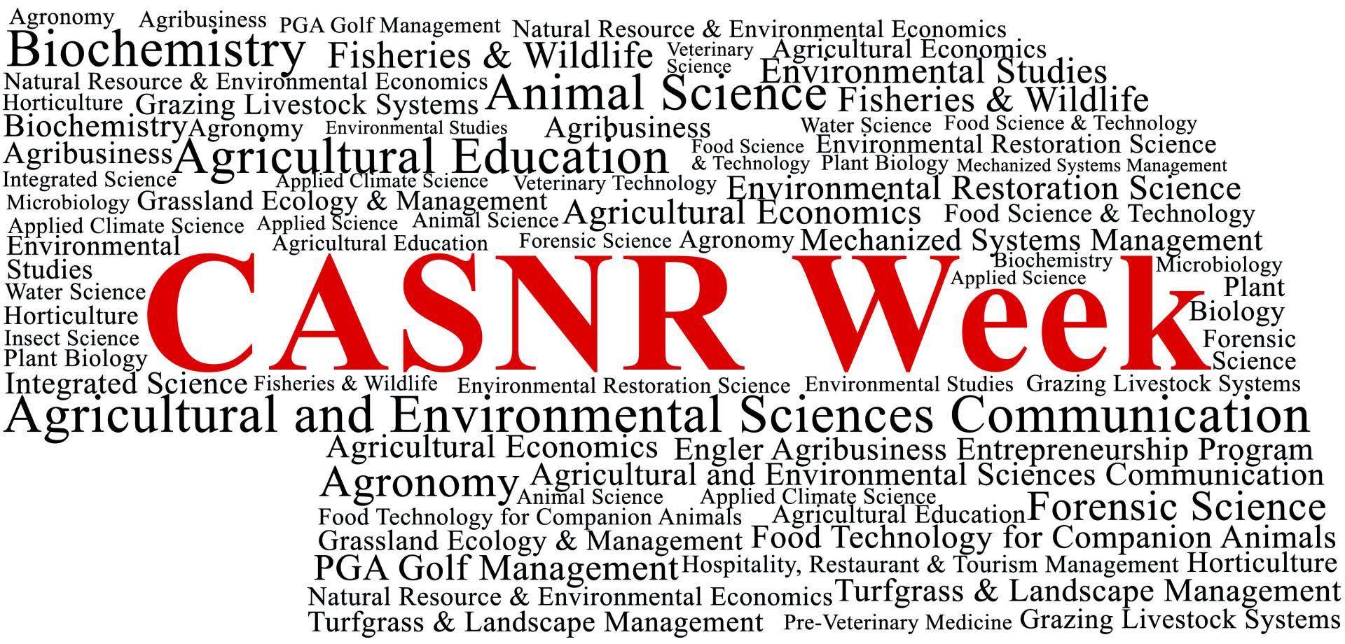 CASNR Week