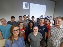 The Nebraska Engineering team, courtesy of Nebraska Today.