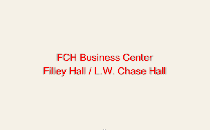FCH Business Center