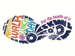 National Walk at Lunch Day icon