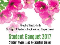 Student Banquet 2017