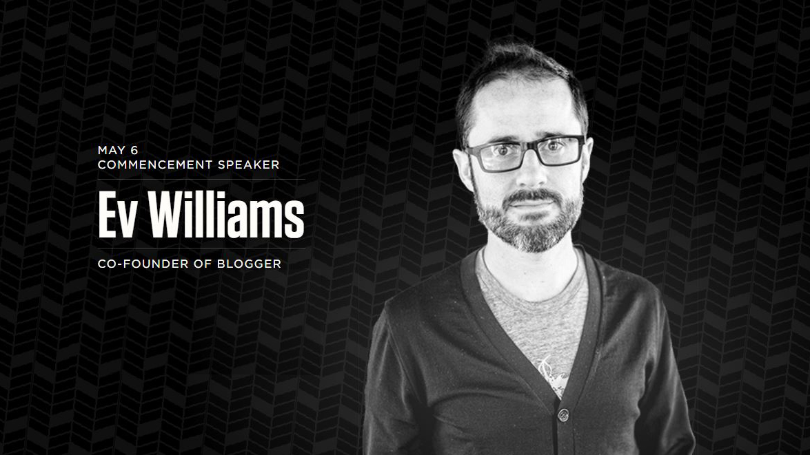 Ev Williams | University Communications