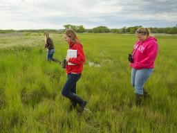 School of Natural Resources students utilize Cedar Point Biological Station for class.   University Communications file photo