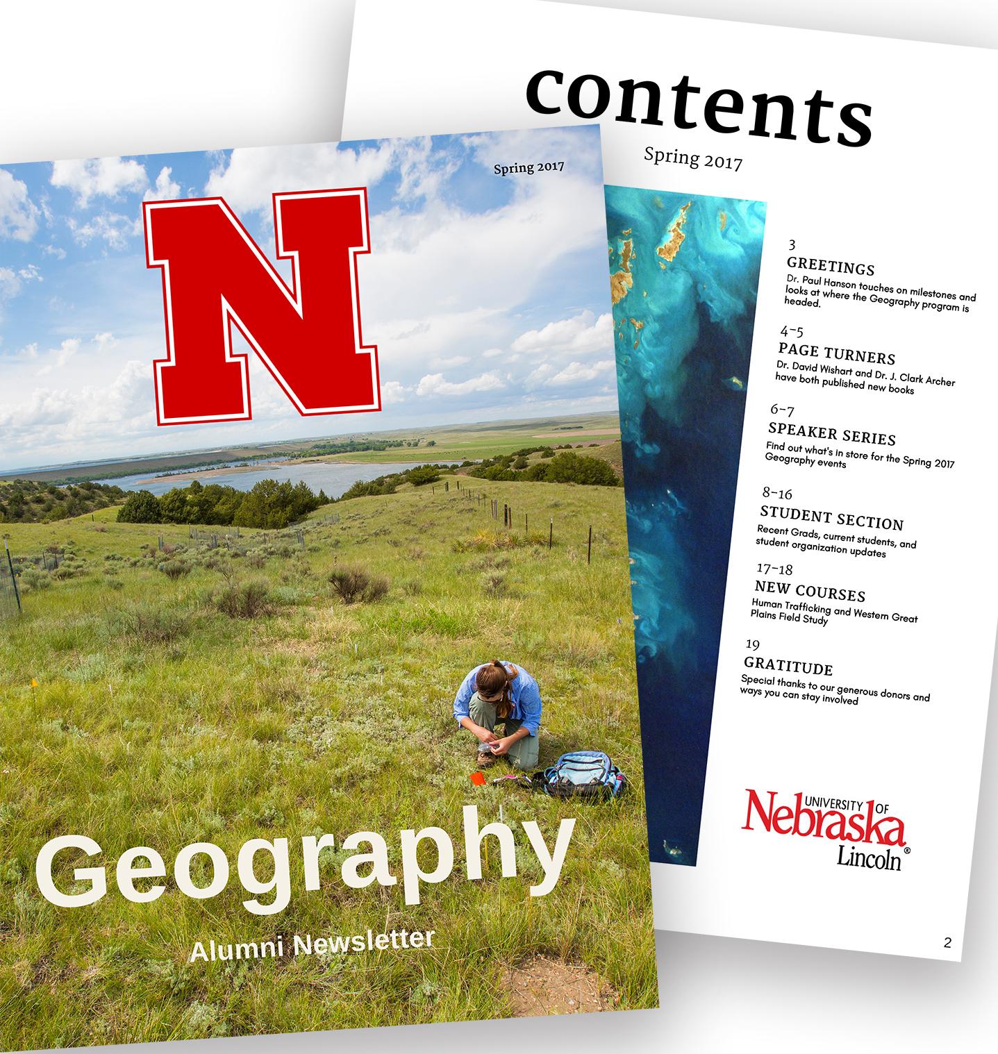 Geography alumni newsletter