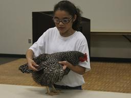 A 4-H poultry presentation from the 2016 Lancaster County Super Fair