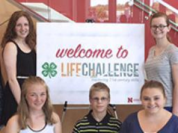 The 2016 Lancaster County state Life Challenge participants.
