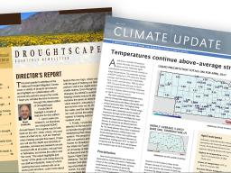 Climate and drought newsletters released.
