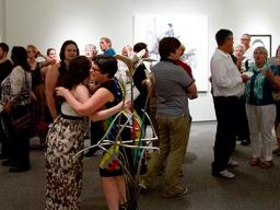 Eisentrager•Howard Gallery, Nebraska National reception, 2016.