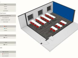 Information Technology Services Learning and Emerging Technology team released its new classroom designer.