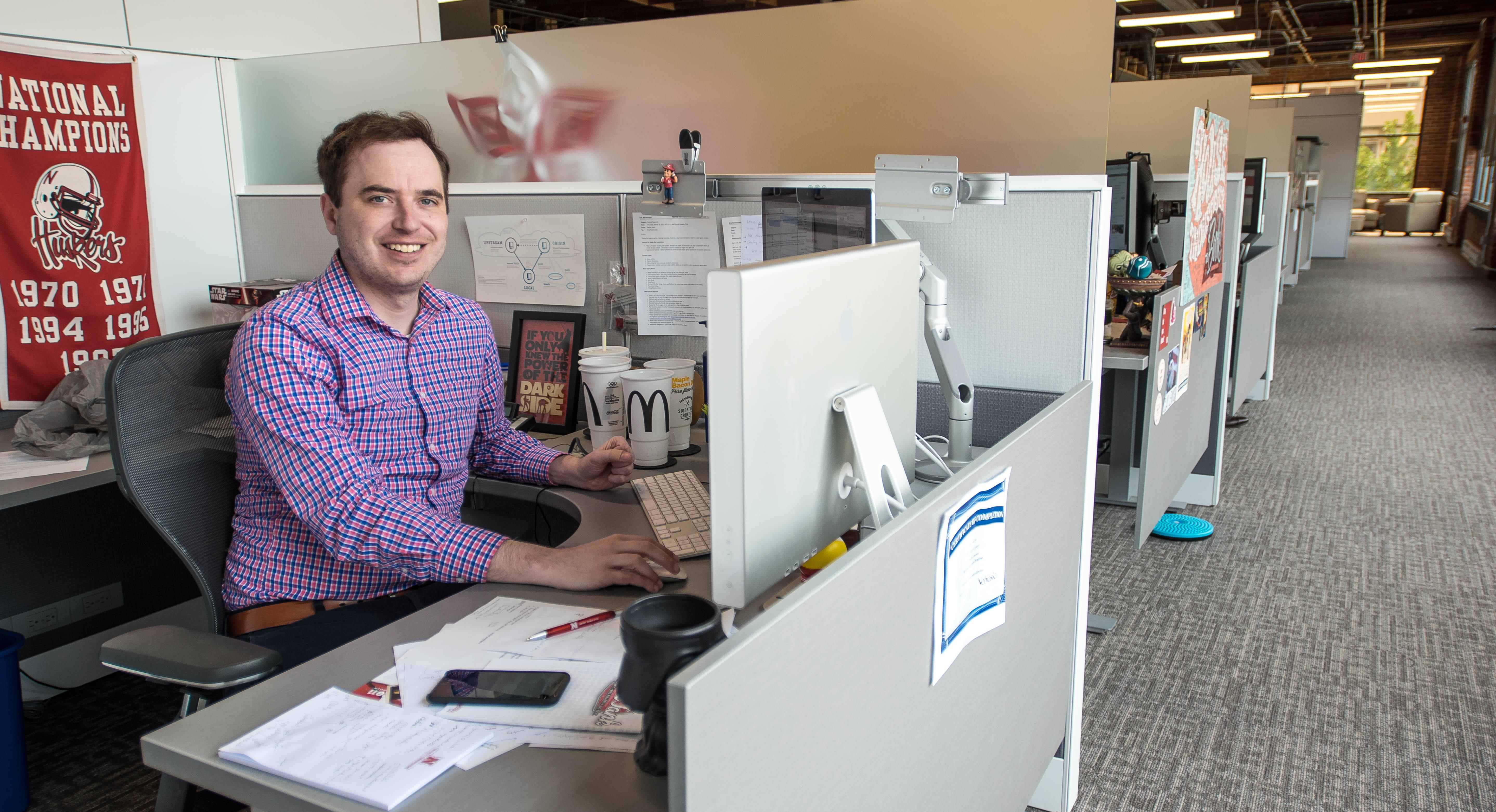 IIM team member Eric Rasmussen as led the development of the University's new Jump Start websites.