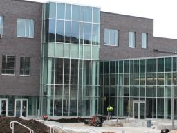 New Willa S. Cather Dining Complex located on 17th Street.