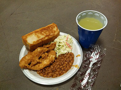 Meal includes: 3 chicken fingers, sides & drink