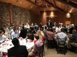 Wilderness Ridge (UNL PGA Golf Management's Home Course) Hosted the Dinner on Wednesday Evening