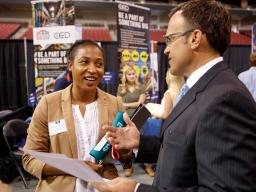 Career Services hosts multiple career fairs each year. Encourage your student to attend.
