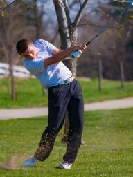 Derek Carlson making a Smooth Stroke from the Fairway