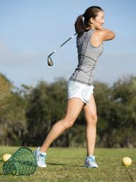 Beginning golf is just one of 40+ classes offered for academic credit through Campus Recreation.