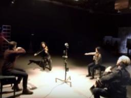 NET's first 360-degree video features the Chiara String Quartet. Viewers can navigate the video through the directional icon in the upper left corner or by tilting/moving a mobile device. View the video at http://go.unl.edu/cap0.