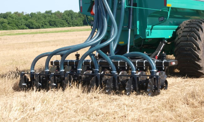 There are some situations when manure will work well in wheat rotations and others that should be used with caution. Photo courtesy of Rick Koelsch.