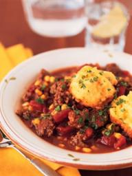 "Attendees of the ""Cooking on a Budget"" class on Oct. 11 will cook Skillet Chili and Corn Biscuits"