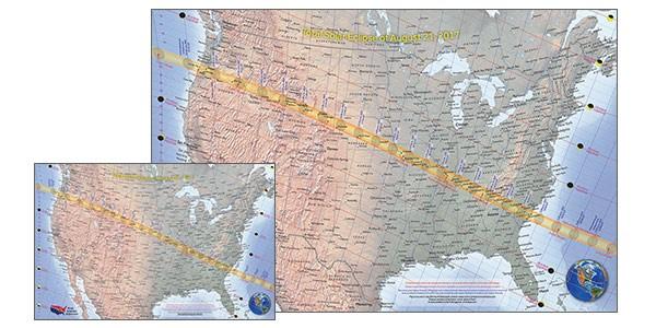 Eclipse maps