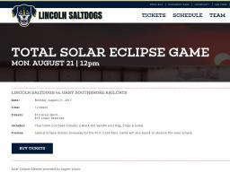 Solar Eclipse Game