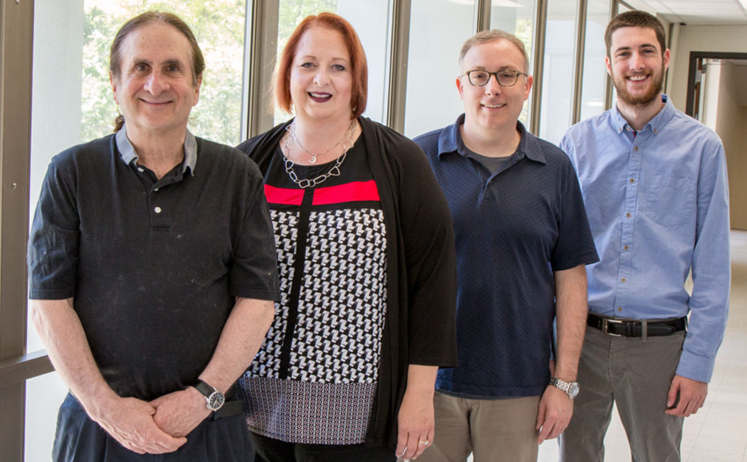 From left: Wayne Babchuk, Michelle Howell Smith, Timothy Guetterman and Jared Stevens.