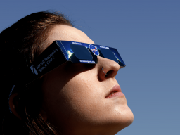 Observe the solar eclipse on Monday, August 21.