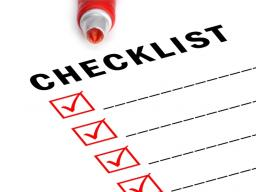 RSO Registration Checklist