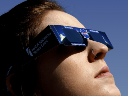 Specialized viewing glasses will be available free for students on City and East Campuses.
