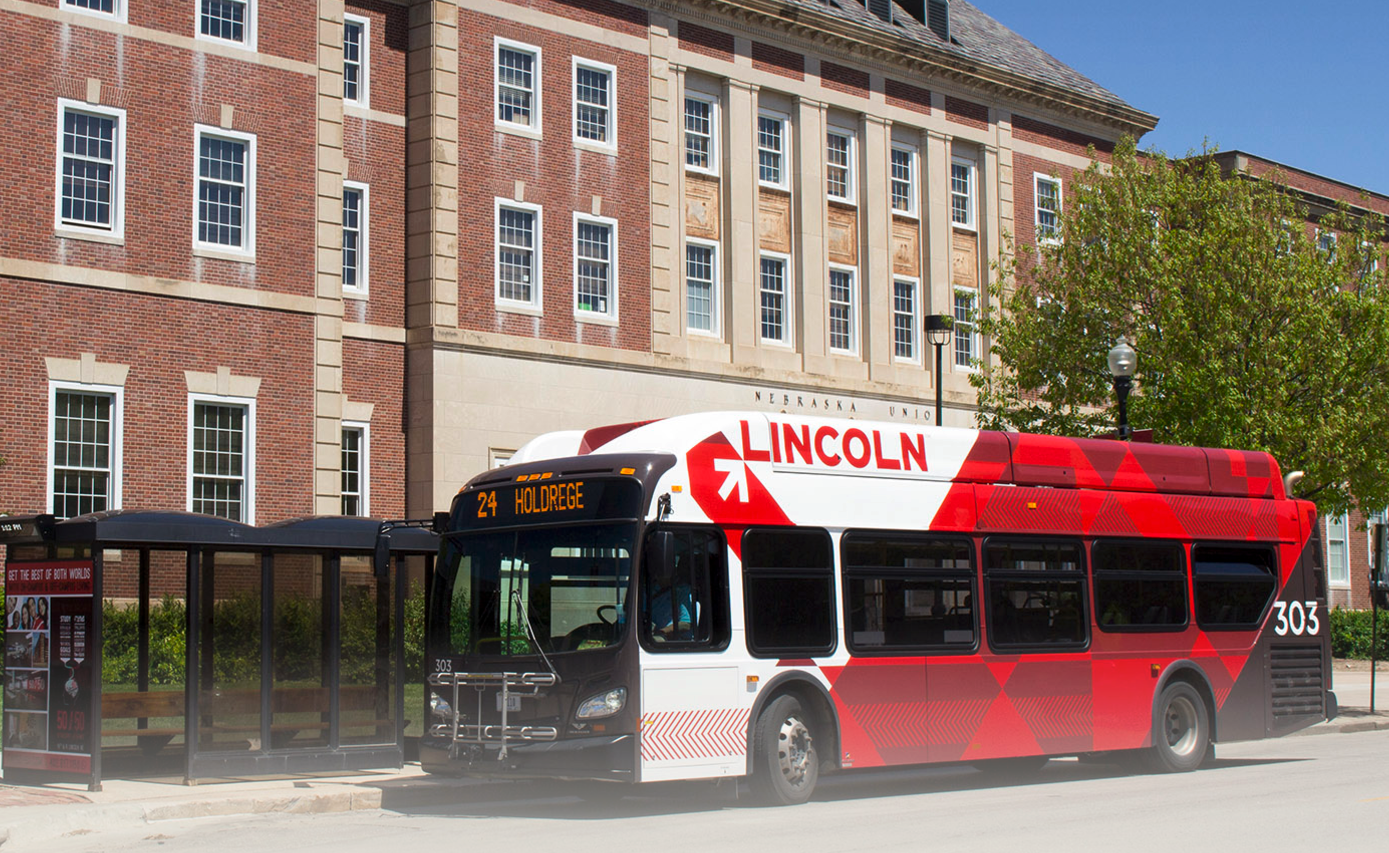 Buses run regularly between City Campus, East Campus and the Nebraska Innovation Campus.