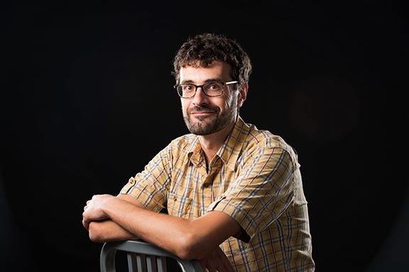 School of Art, Art History & Design Assistant Professor of Art History Philip Sapirstein.
